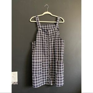 Pinafore overall dress